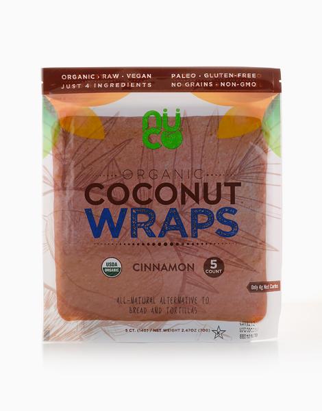 Cinnamon Organic Coconut Wraps by Nuco