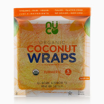 Turmeric Organic Coconut Wraps by Nuco