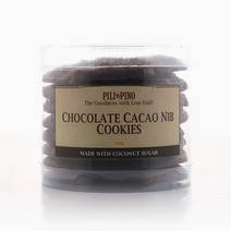 Chocolate Cacao Nib Cookies (180g) by Pili & Pino