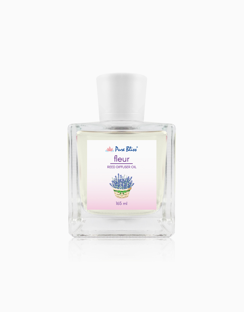 """Fleur Reed Diffuser Oil (165ml) with Free Natural 8"""" Reed Sticks (3 pieces) by Pure Bliss"""