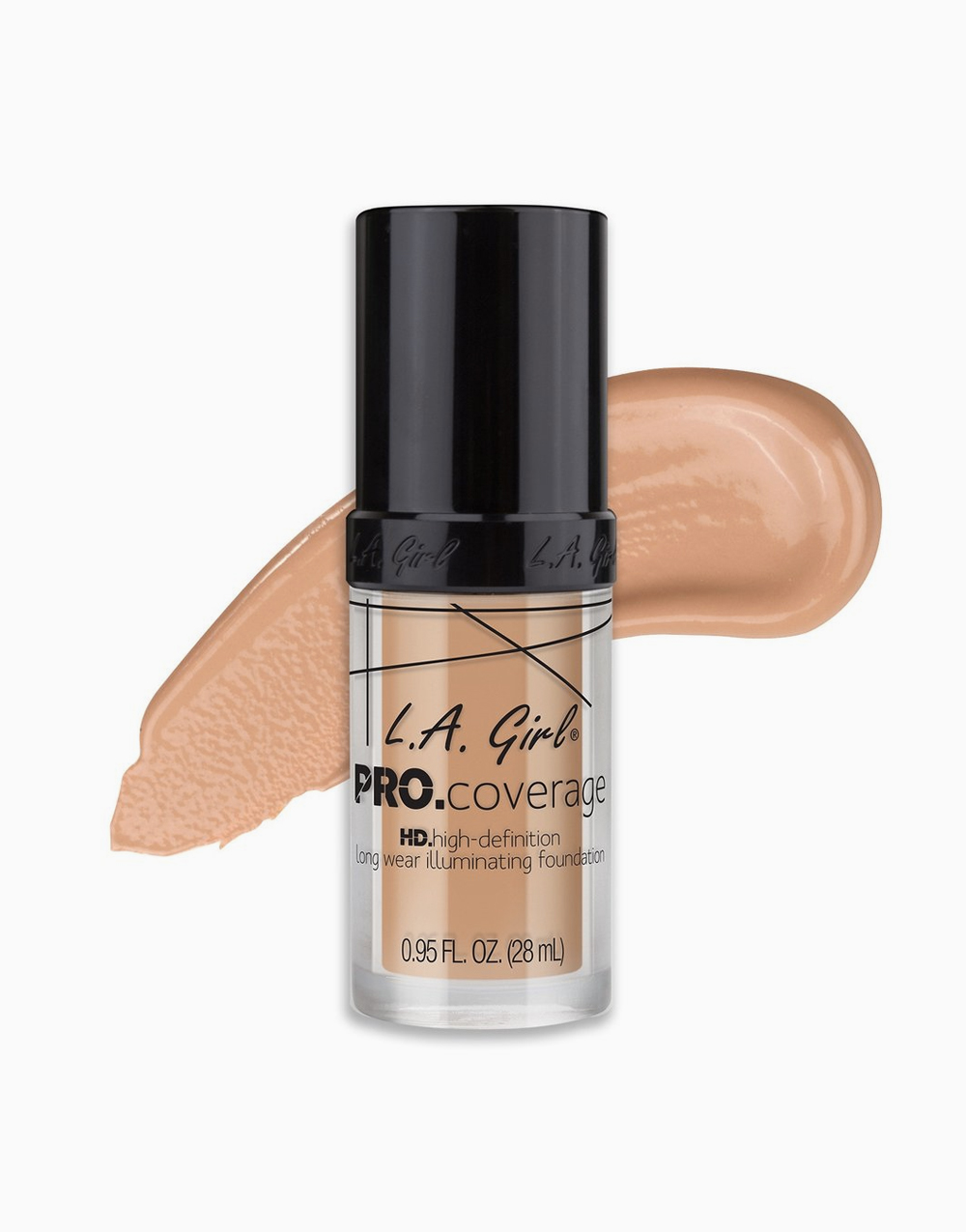 PRO Coverage Illuminating Foundation by L.A. Girl | Porcelain
