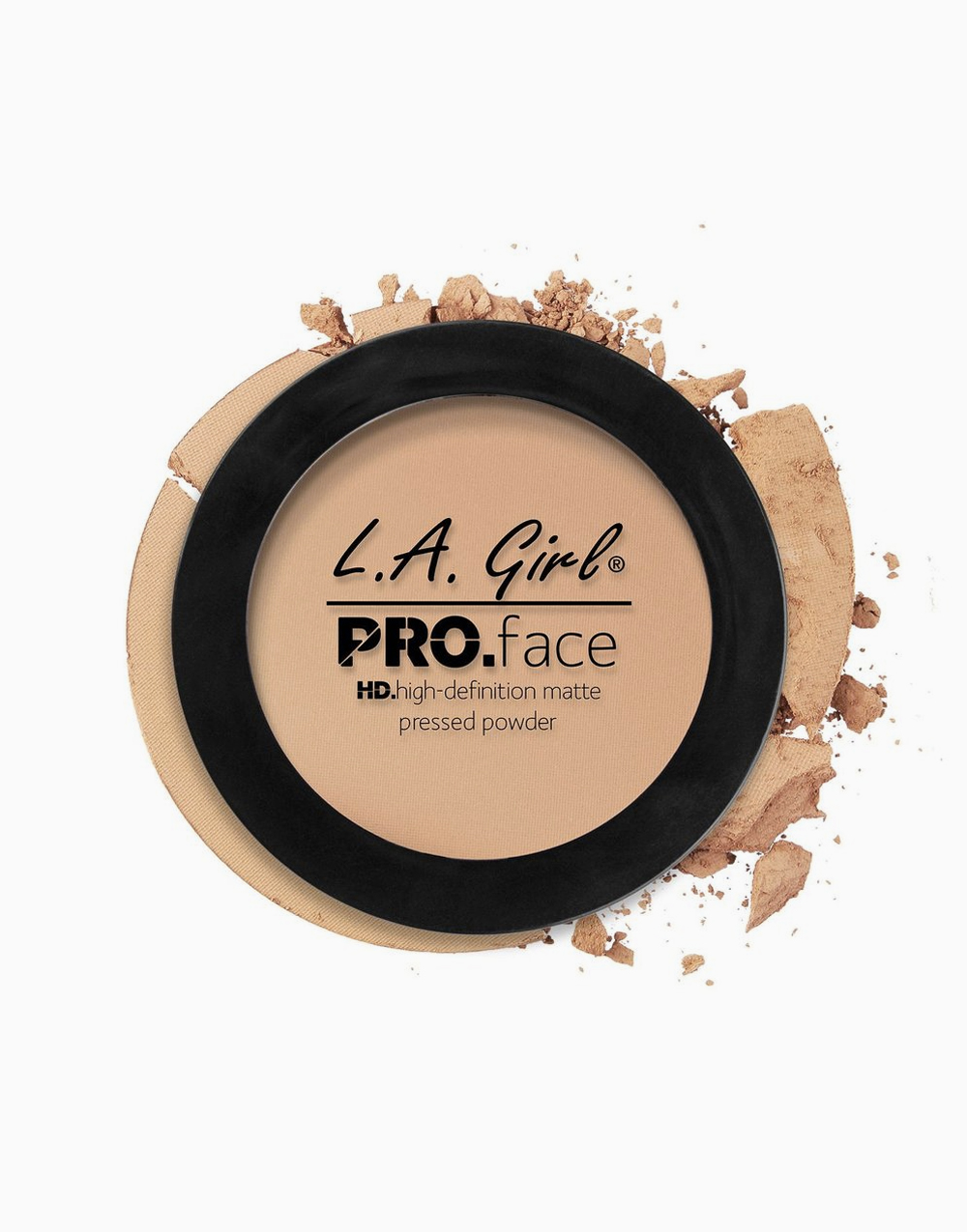 PRO Face Pressed Powder by L.A. Girl | Buff