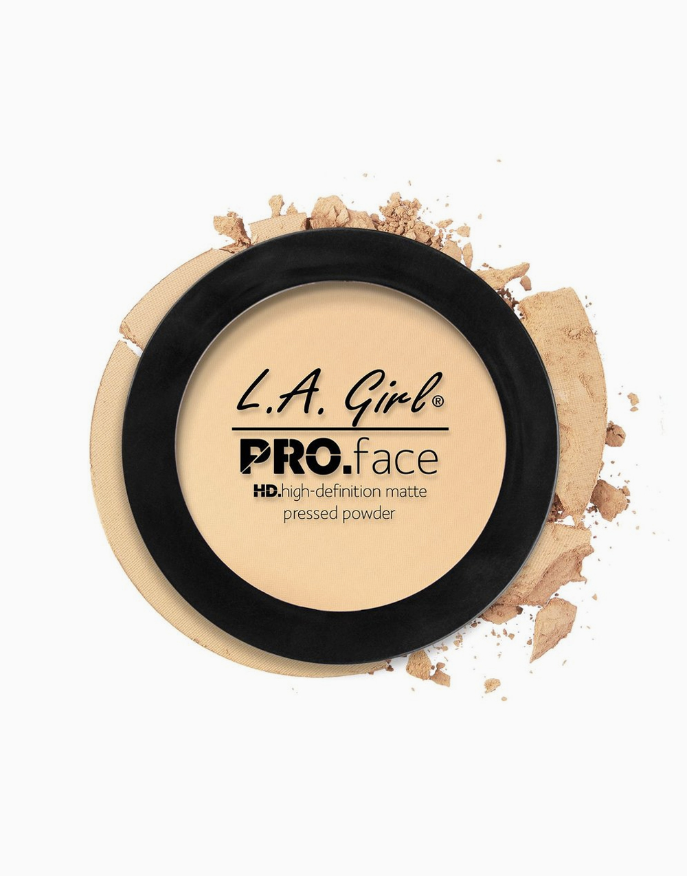 PRO Face Pressed Powder by L.A. Girl | Classic Ivory