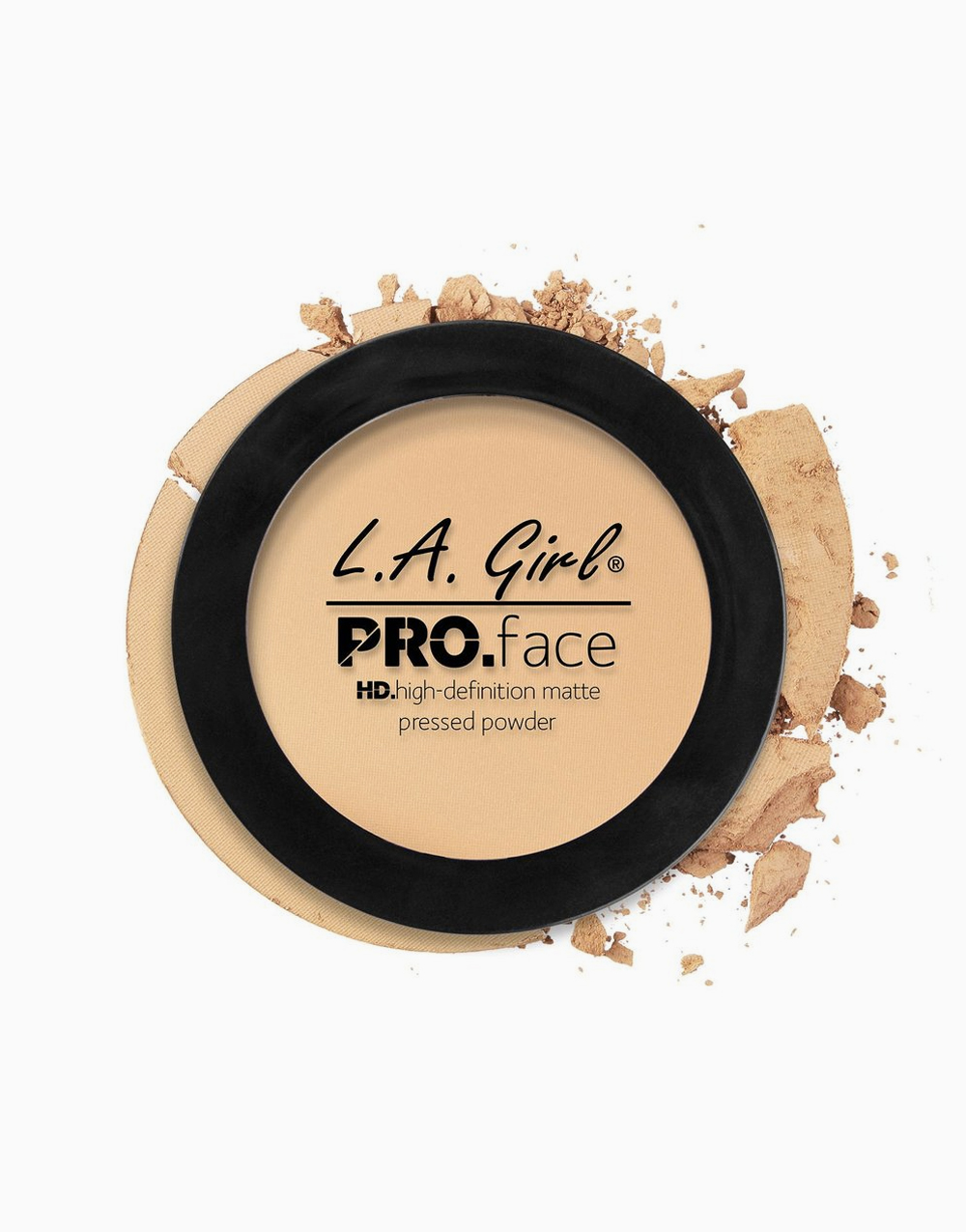PRO Face Pressed Powder by L.A. Girl | Creamy Natural
