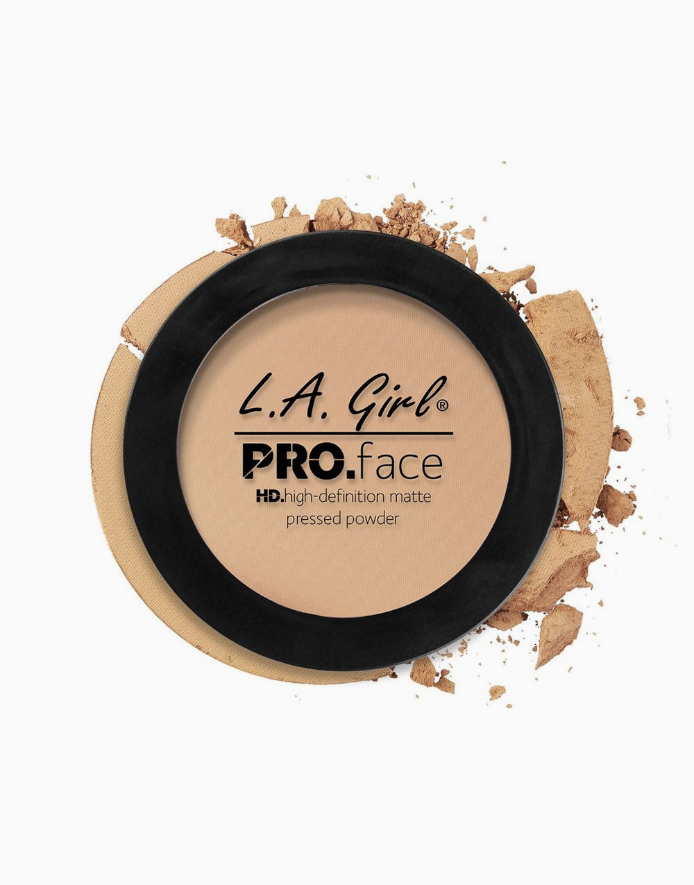 PRO Face Pressed Powder by L.A. Girl | Nude Beige