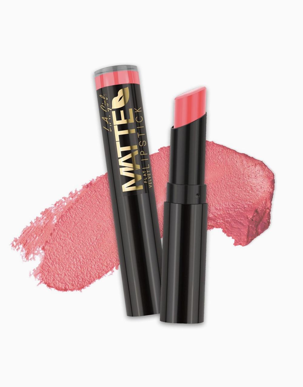 Flat Velvet Matte Lipstick by L.A. Girl | Blessed