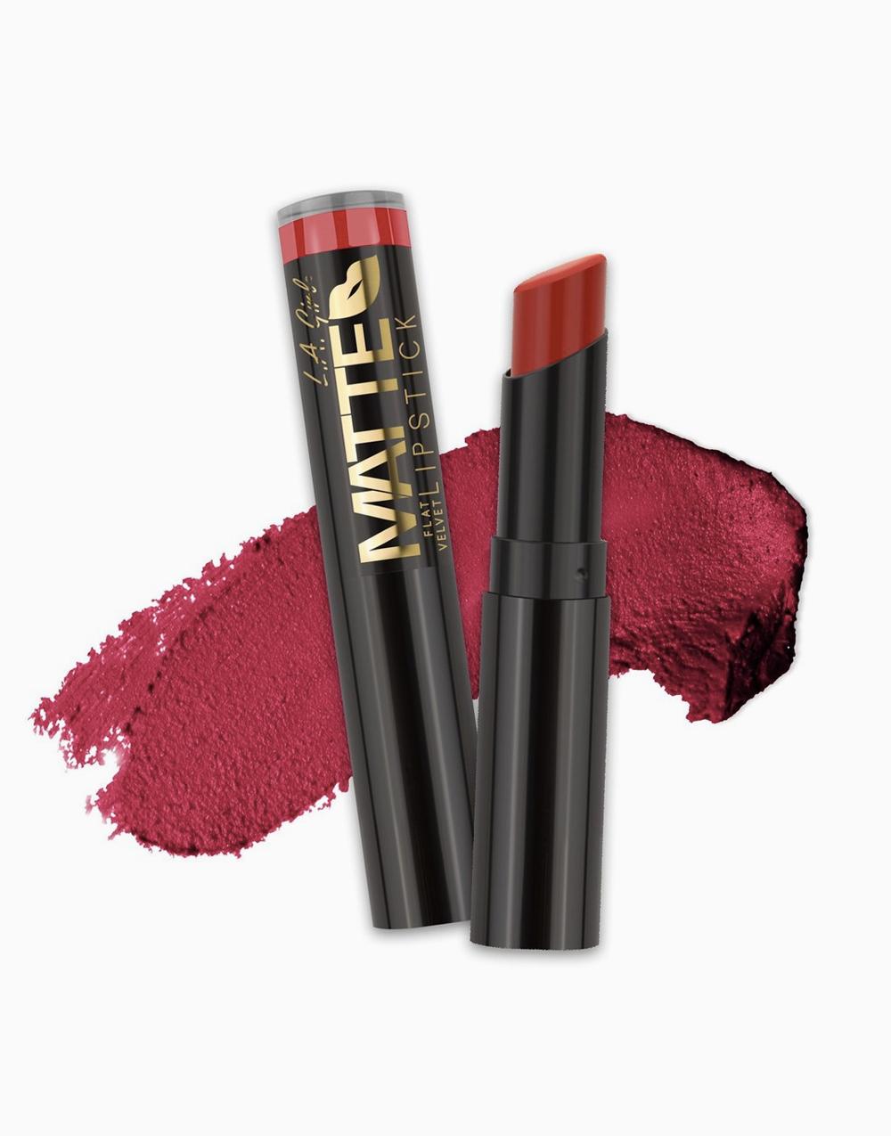 Flat Velvet Matte Lipstick by L.A. Girl | Gossip