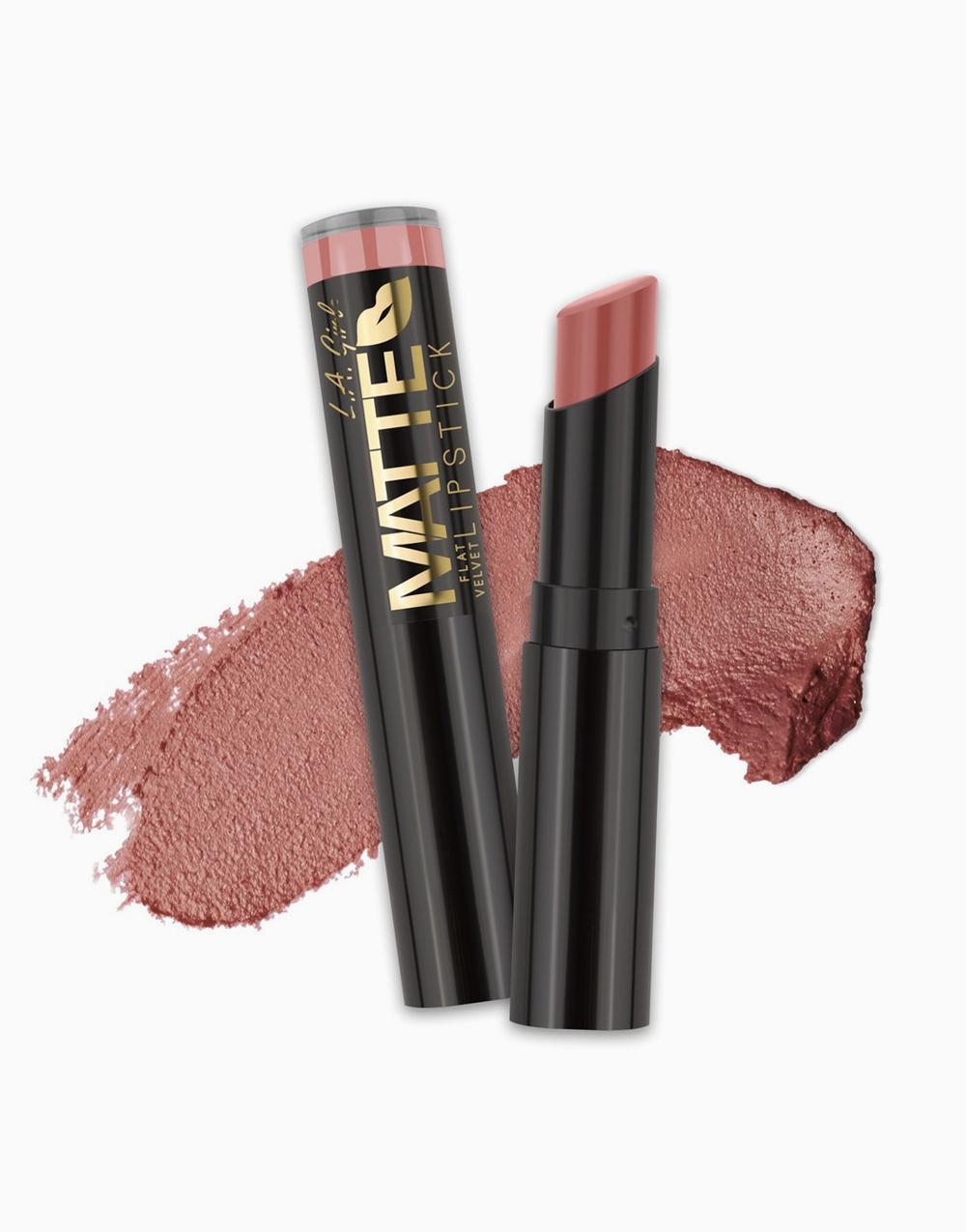 Flat Velvet Matte Lipstick by L.A. Girl | Hush