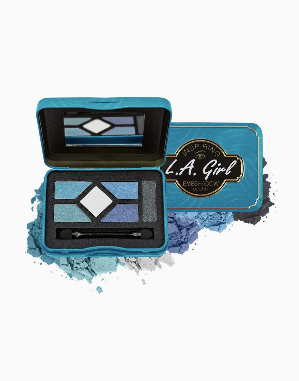Inspiring Eyeshadow Palette by L.A. Girl | Fabulous & Fearless