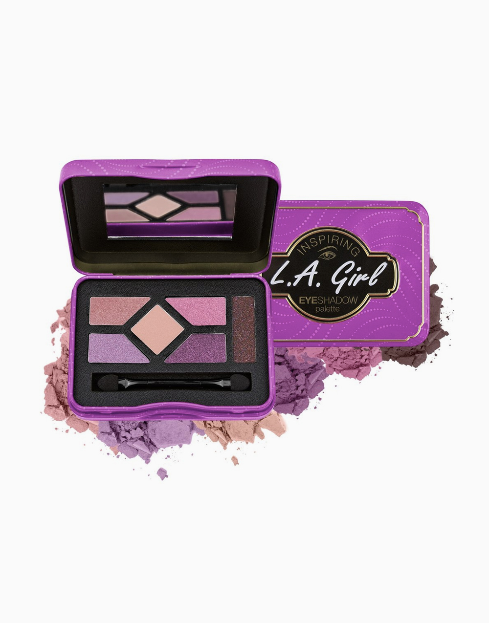 Inspiring Eyeshadow Palette by L.A. Girl | Get Glam & Get Going