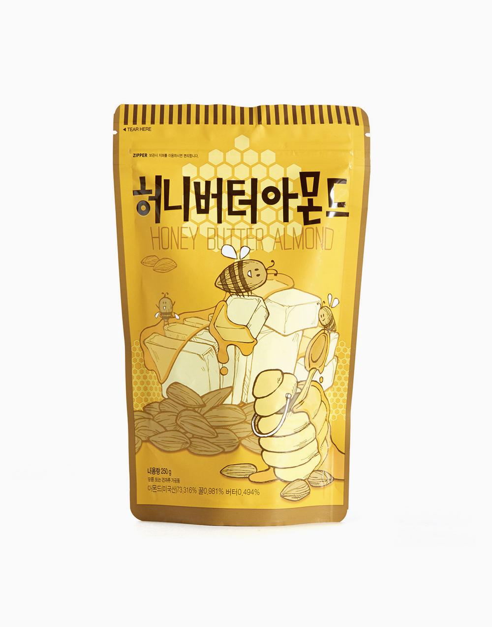 Honey Butter Almond by Tom's Farm Gilim