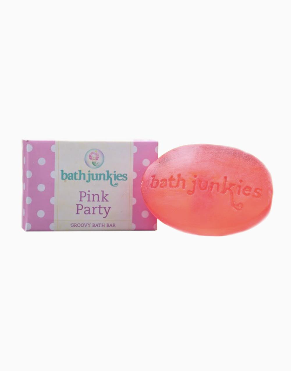 Pink Party Groovy Bath Bar by Bath Junkies