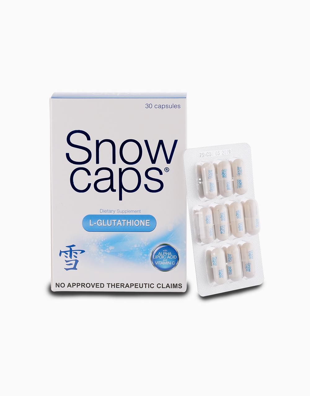 SnowCaps Premium L-Glutathione by SnowCaps