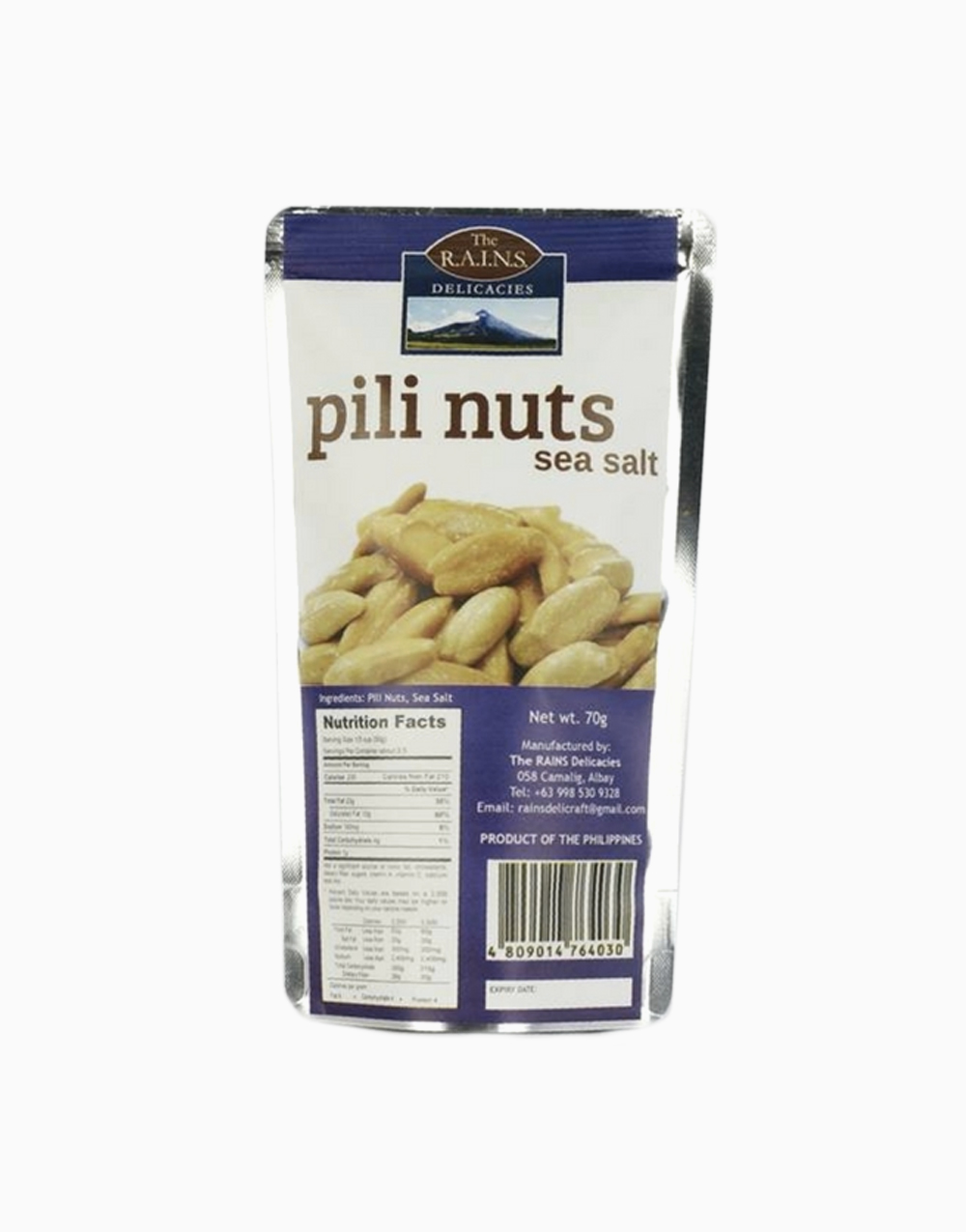 Sea Salt Pili Nuts by Rains Delicacies