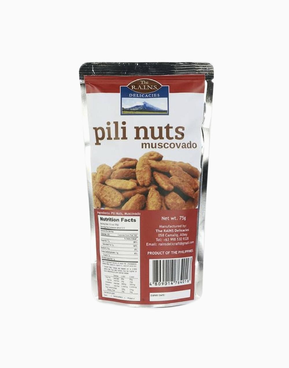 Muscovado Pili Nuts by Rains Delicacies