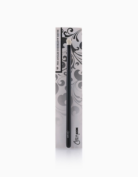 PRO #9 Angled Eyeshadow Brush by Charm