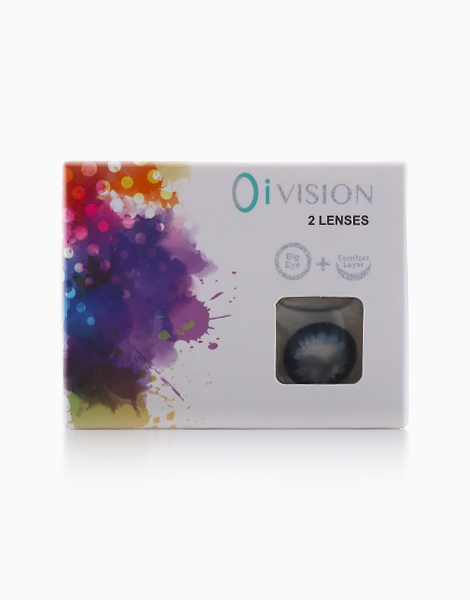 Midnight Ocean Contact Lens by O I-Vision Contact Lens | 5.00