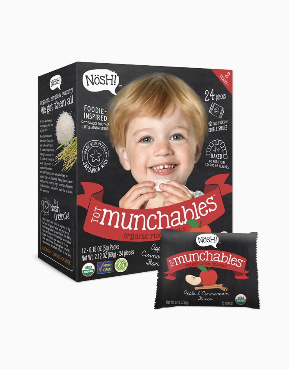 Apple Cinnamon Organic Vegan Tot Munchables  by Nosh!