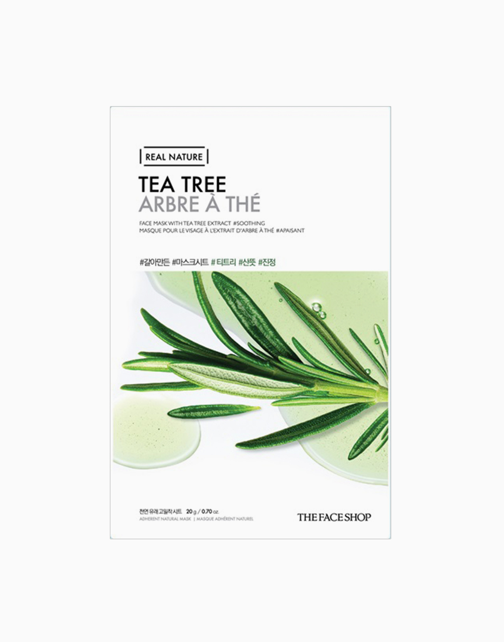 Real Nature Tea Tree Face Mask by The Face Shop