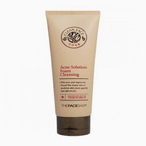 Tfs clean face acne solution foaming cleanser