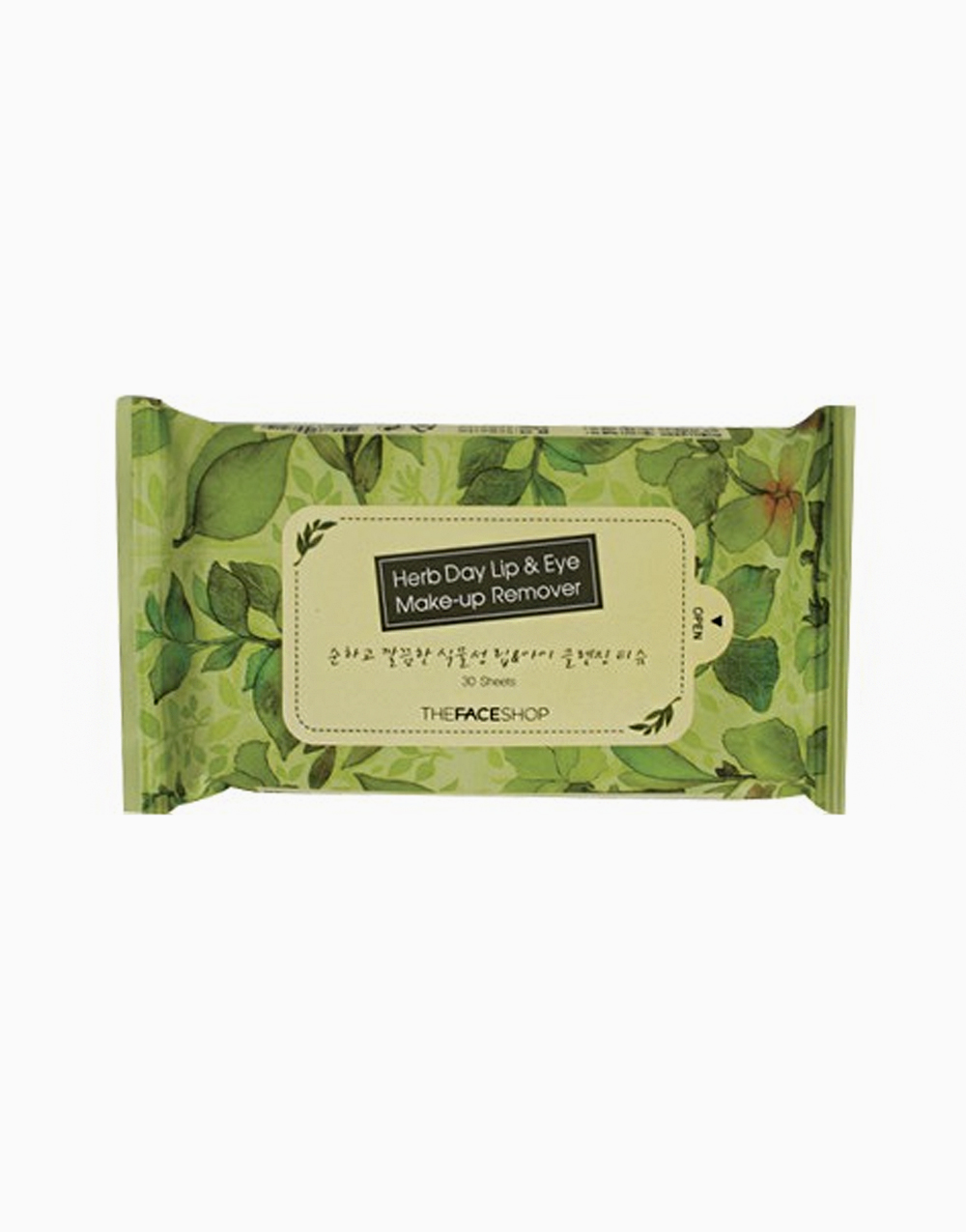 Herb Day Lip & Eye Makeup Remover Pads by The Face Shop