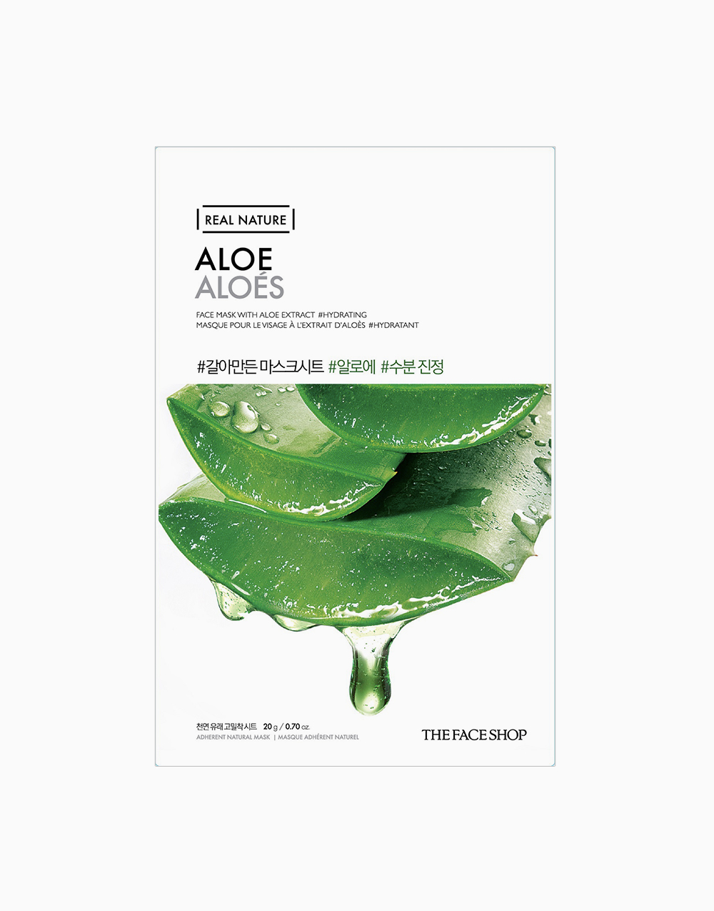 Real Nature Aloe Vera Face Mask by The Face Shop