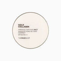 Tfs gold collagen ampoule two way pact spf30 pa