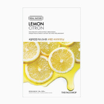 Tfs real nature mask sheet lemon