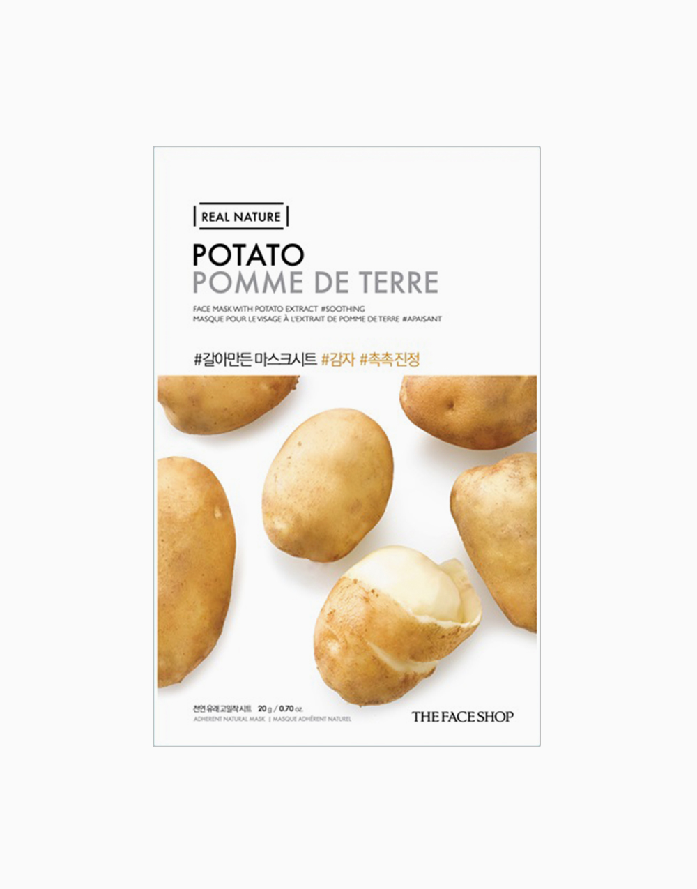 Real Nature Potato Face Mask by The Face Shop