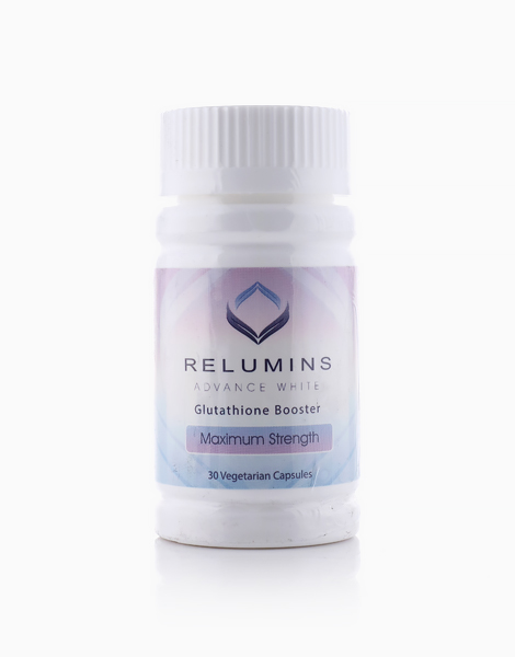 NEW Relumins Advanced White Glutathione Booster Max Strength (30 capsules) by Relumins
