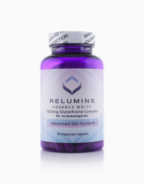 NEW Relumins Advanced White 1650mg Glutathione Complex by Relumins