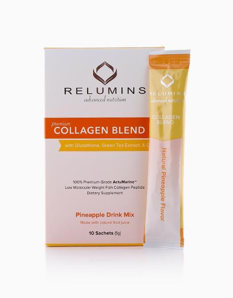 NEW Relumins Premium Collagen Blend (10 Sachets) by Relumins | Pineapple