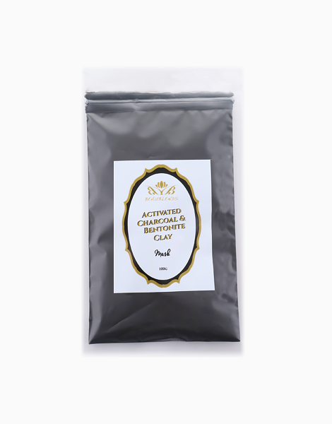 Activated Charcoal & Bentonite Clay Powder Mask by Beaublends