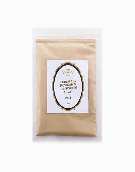 Turmeric Powder and Calcium Bentonite Clay Powder by Beaublends