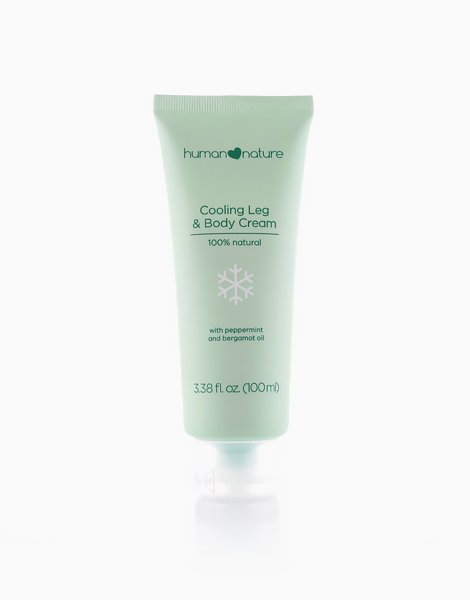 Cooling Leg and Body Cream (100ml) by Human Nature