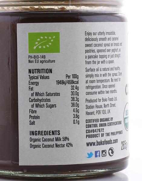 Buko Organic Coconut Spread (265g) by Buko Foods