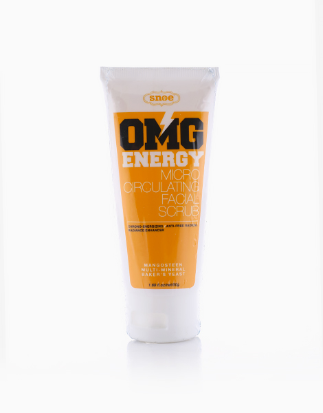 OMG Energy Micro Circulating Facial Scrub by Snoe Beauty