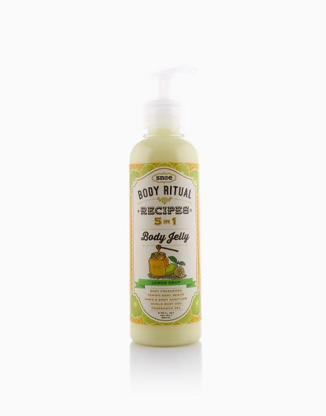 Body Ritual Recipes 5-in-1 Body Jelly by Snoe Beauty | Jelly Lemon Balm Drop