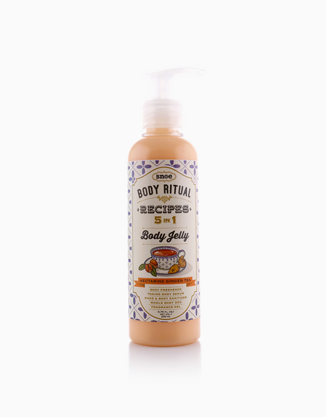 Body Ritual Recipes 5-in-1 Body Jelly by Snoe Beauty | Jelly Nectarine Ginger Tea