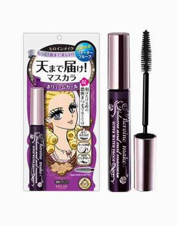 Waterproof Volume & Curl Mascara by Heroine Make