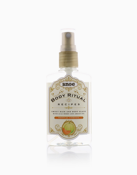 Body Ritual Recipes Sweet Hair & Body Glaze by Snoe Beauty | Tropical Cocktail
