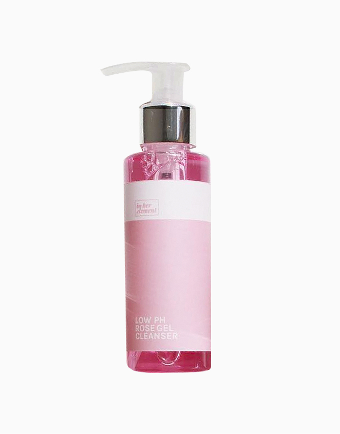 Low pH Rose Gel Cleanser by In Her Element