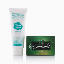 Emerald All-In Soap w/ White Jade Lotion by MontSapo