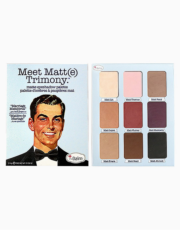 Meet Matte Trimony by The Balm