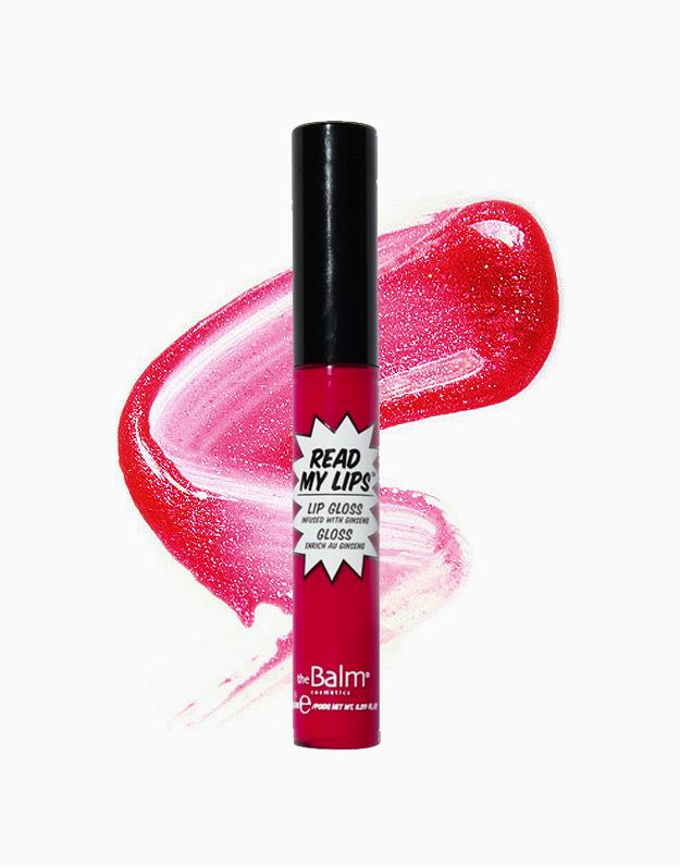 Read My Lips Lipgloss by The Balm | HUBBA HUBBA!