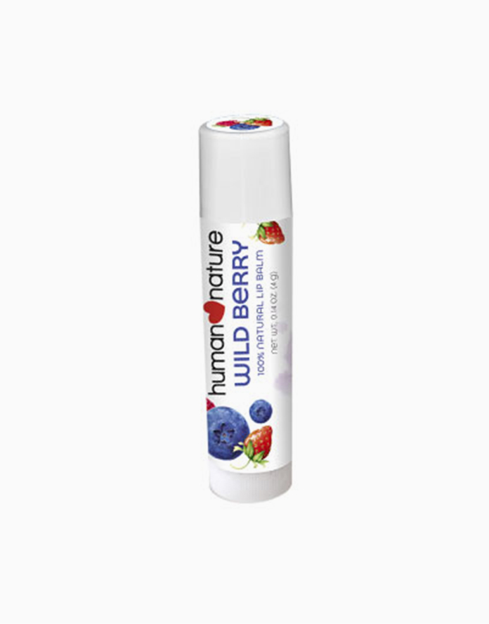 100% Natural Lip Balm by Human Nature | Wild Berry