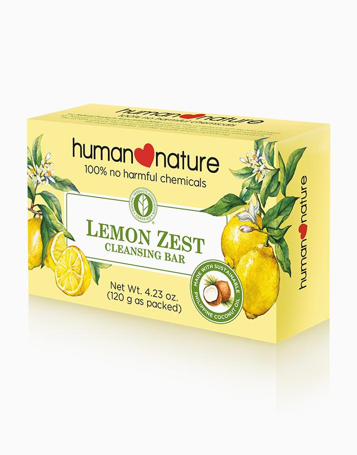 Lemon Zest Soap (120g) by Human Nature