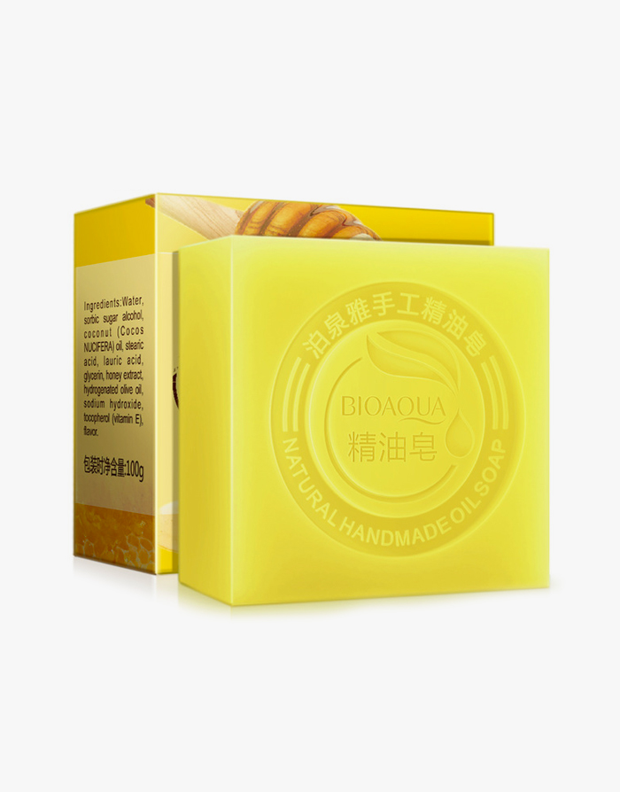 Honey Natural Oil Soap  by Bioaqua