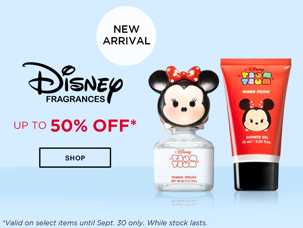 Promobox disney fragrances